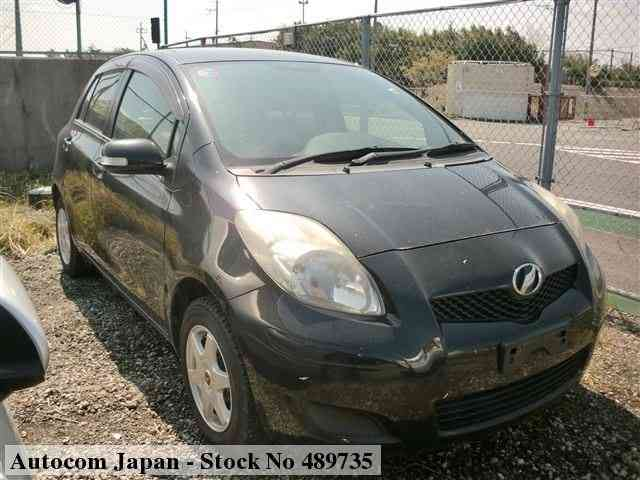 Used TOYOTA VITZ 2007 for sale No 489735 | Autocom Japan