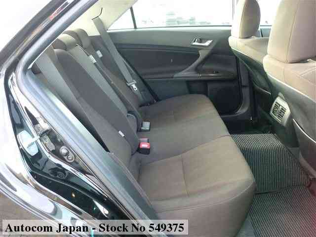 STOCK No.549375 TOYOTA MARK X Image4