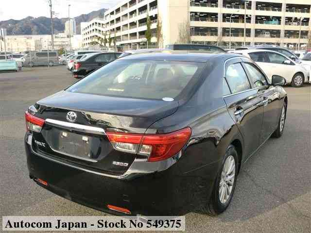 STOCK No.549375 TOYOTA MARK X Image23