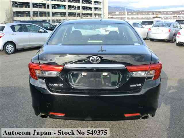 STOCK No.549375 TOYOTA MARK X Image25