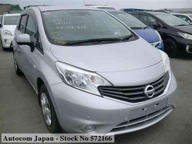 STOCK No.572166 NISSAN NOTE Image1