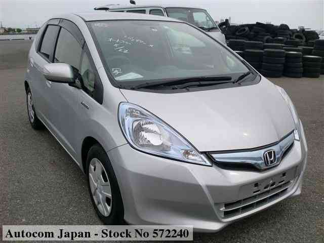STOCK No.572240 HONDA FIT HV Image1