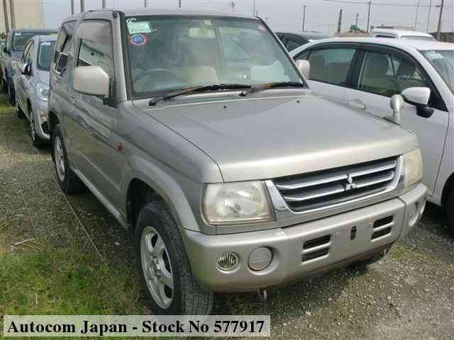 STOCK No.577917 MITSUBISHI PAJERO MINI Image1