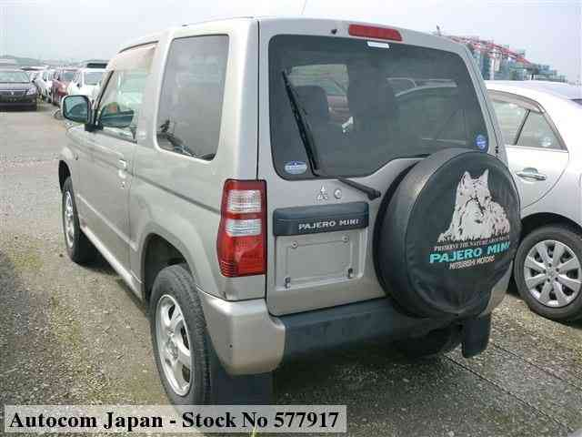 STOCK No.577917 MITSUBISHI PAJERO MINI Image2