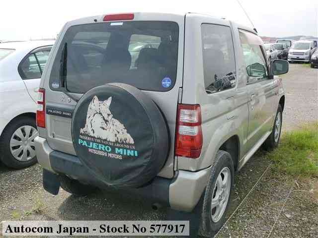 STOCK No.577917 MITSUBISHI PAJERO MINI Image16