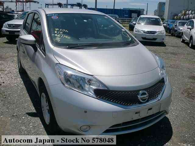 STOCK No.578048 NISSAN NOTE Image1