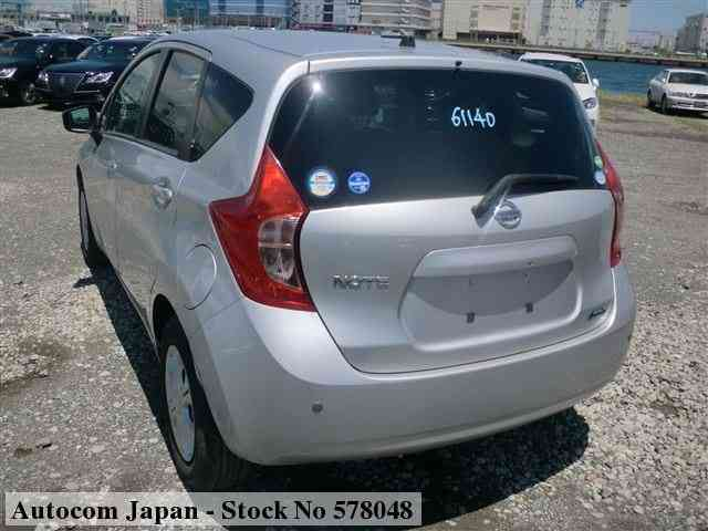 STOCK No.578048 NISSAN NOTE Image2