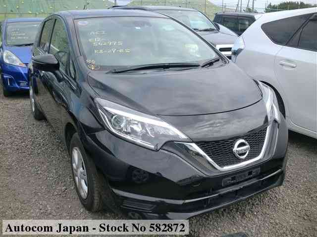 STOCK No.582872 NISSAN NOTE Image1