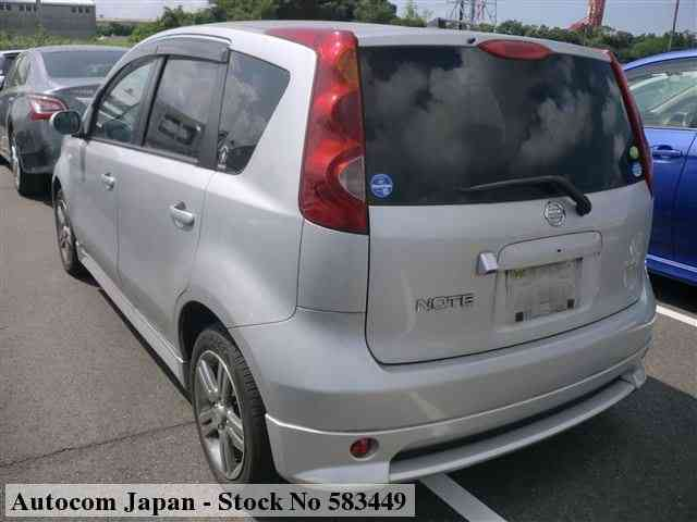 STOCK No.583449 NISSAN NOTE Image2