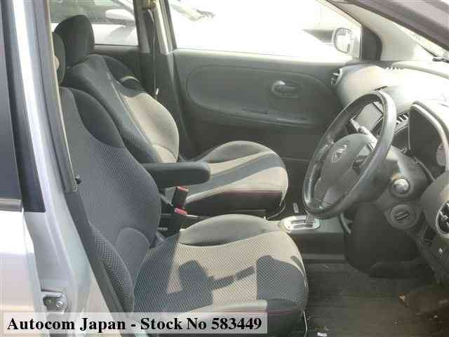 STOCK No.583449 NISSAN NOTE Image8