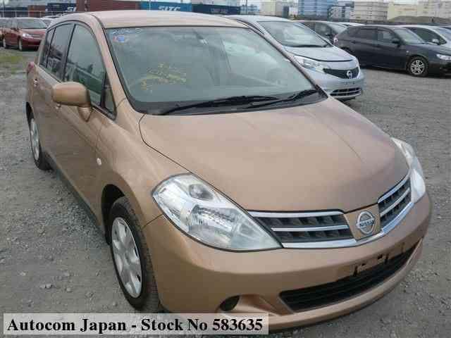 used nissan tiida 2008 for sale no 583635 autocom japan 2008 nissan tiida