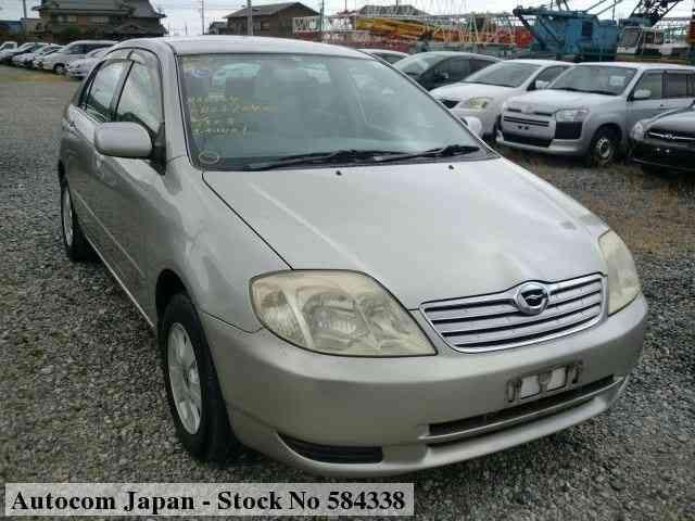 used toyota corolla 2003 for sale no 584338 autocom japan 2003 toyota corolla
