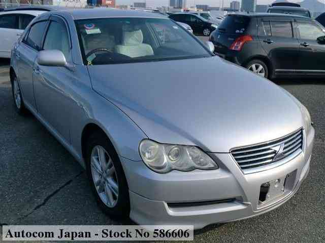 STOCK No.586606 TOYOTA MARK X Thumbnail1