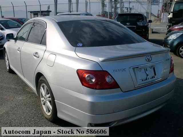 STOCK No.586606 TOYOTA MARK X Image2
