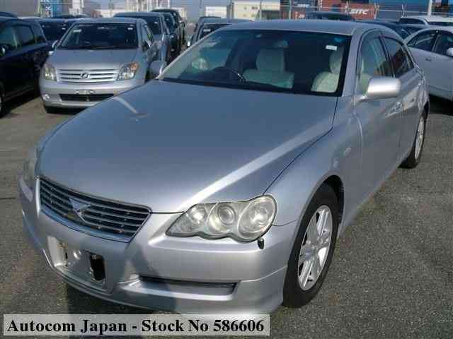 STOCK No.586606 TOYOTA MARK X Image25
