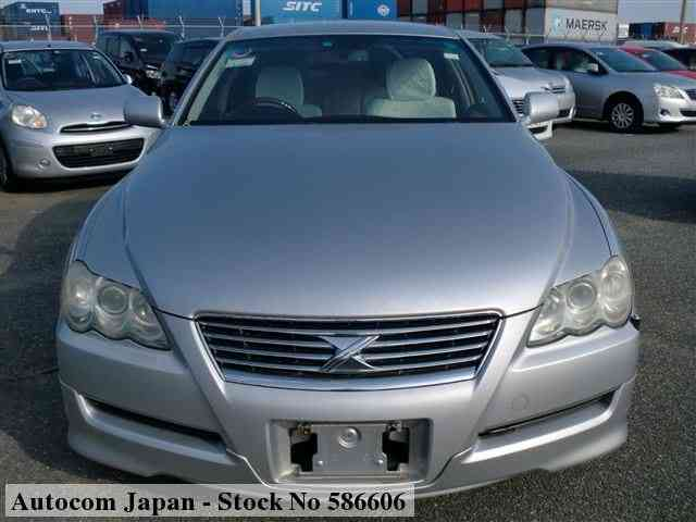 STOCK No.586606 TOYOTA MARK X Image27