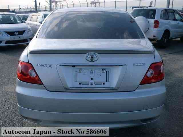 STOCK No.586606 TOYOTA MARK X Image28