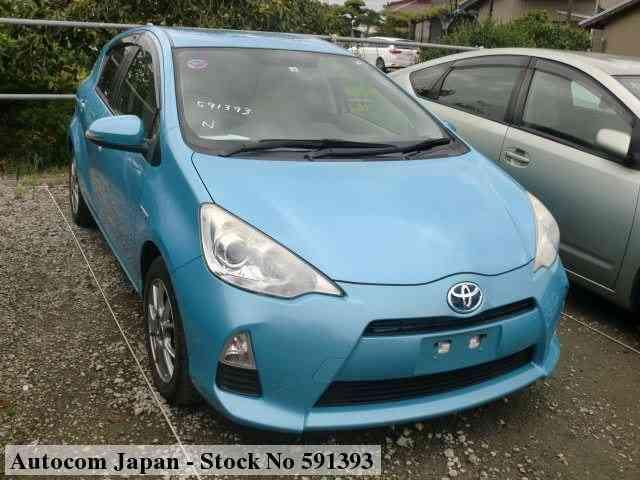 used toyota aqua 2012 for sale no 591393 autocom japan 2012 toyota aqua