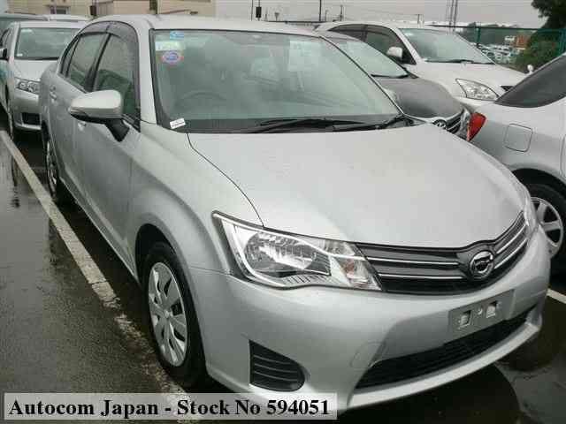 used toyota axio 2013 for sale no 594051 autocom japan autocom japan