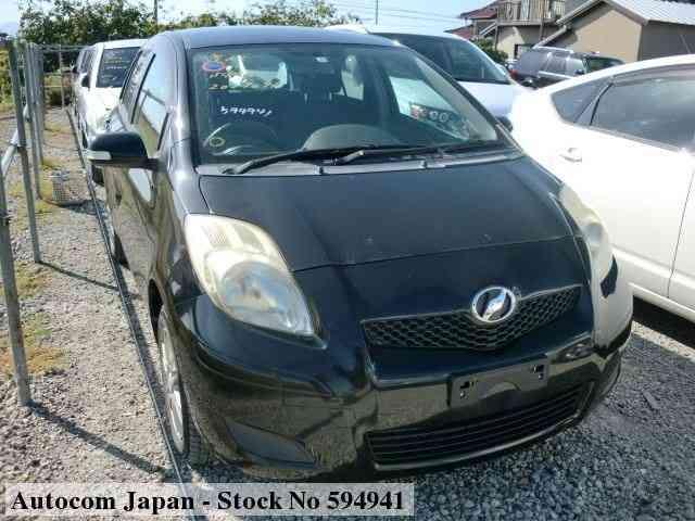 used toyota vitz 2009 for sale no 594941 autocom japan 2009 toyota vitz