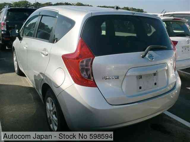 STOCK No.598594 NISSAN NOTE Image2