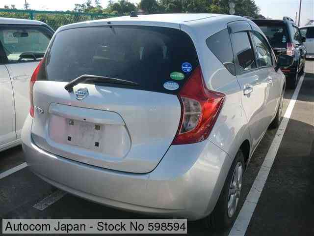STOCK No.598594 NISSAN NOTE Image17