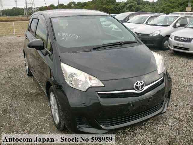 used toyota ractis 2013 for sale no 598959 autocom japan autocom japan