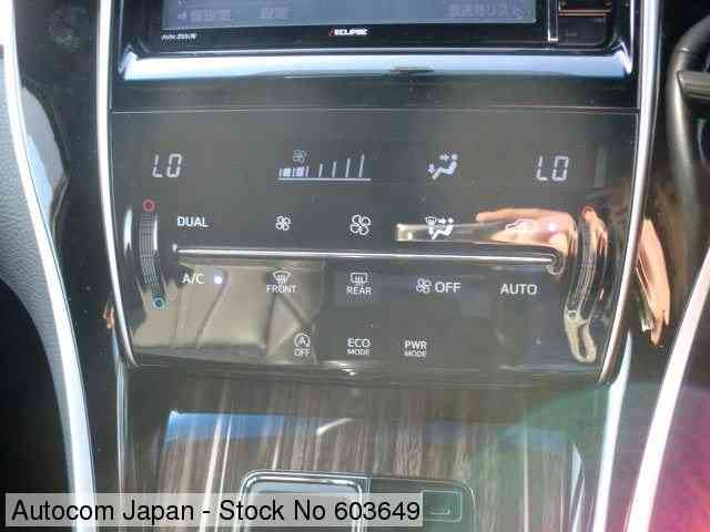 STOCK No.603649 TOYOTA HARRIER Image13