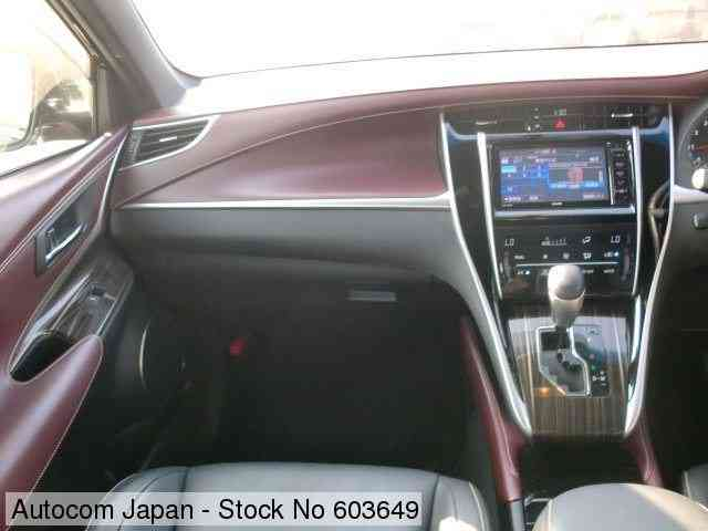 STOCK No.603649 TOYOTA HARRIER Image14