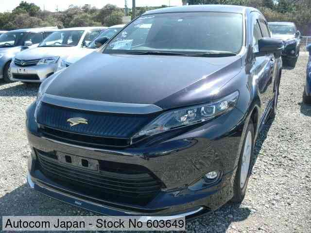 STOCK No.603649 TOYOTA HARRIER Image32