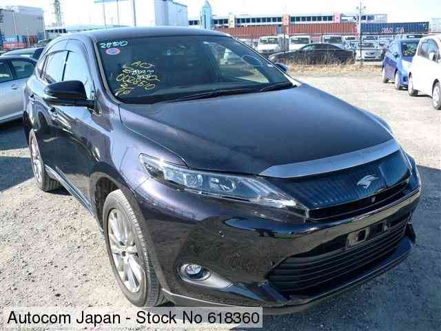 STOCK No.618360 TOYOTA HARRIER Image1