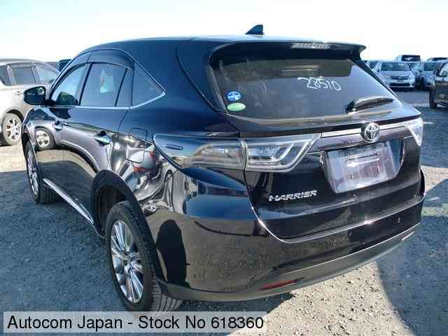 STOCK No.618360 TOYOTA HARRIER Image2