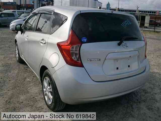 STOCK No.619842 NISSAN NOTE Image2